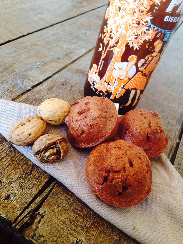 Muffins à la farine de chataigne