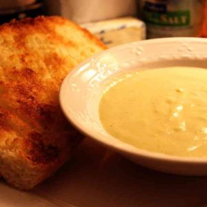 Soupe au brocciu