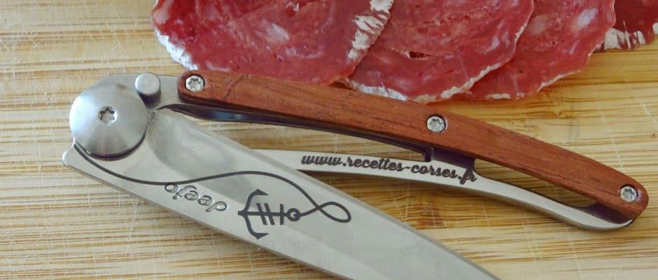 Deejo, le couteau personnalisable