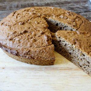 Gâteau à la farine de chataigne